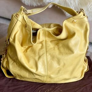 Rebecca Minkoff Yellow Leather 'Nikki' Hobo